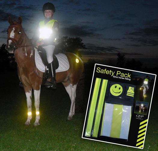 Zien paarden in het donker